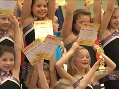 Mehr als 400 junge Tänzer begeisterten das Publikum beim Tanzfestival Petershagen/Eggersdorf